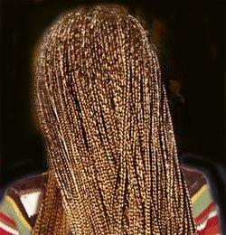 Плетение косичек - Прически из тоненьких косичек