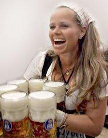 Пивная косметика - Маски из пива для лица и волос