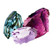 О подразделении камней по цвету