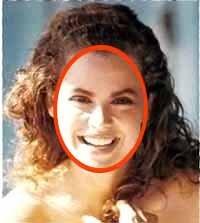 Овальное лицо - Стрижки для овального лица