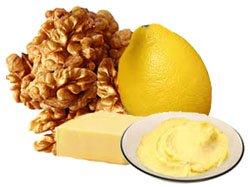 Крем питательный ореховый для лица приготовленный своими руками