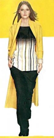 Желтый цвет одежды - жизнеутверждающие оттенки