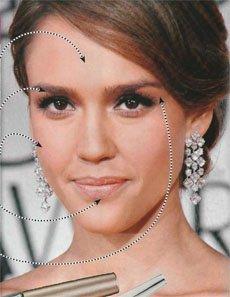 Пять этапов звездного макияжа