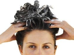 Маска травяная для окрашенных волос. Массаж