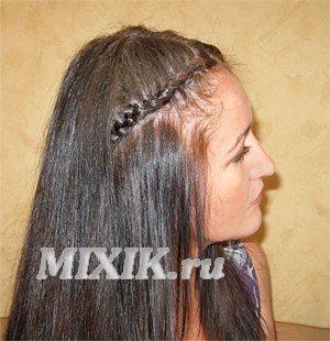 Видео прическа - Мальвина с косами, второй вариант