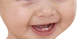 Прорезывания зубов у малыша