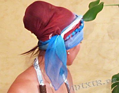 Палантин на голову. Как повязать (завязать) палантин (шарф) на голову - 10 способов