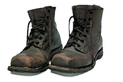 Если обувь промокла
