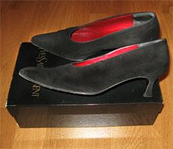 Уход за кожаной обувью