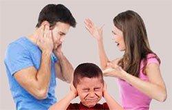 Ссора при ребенке