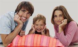 На любовь в семье