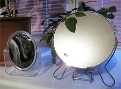 Зеркала отражают негативную энергию